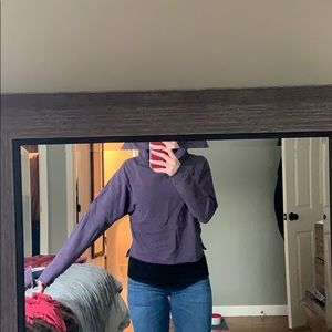 Great condition lululemon cropped hoodie